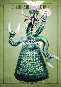 Lovecradt Creatures - The Great Race of Yith Call Of Cthulhu, Lovecraftian Horror, Cosmic Horror, Bestiary, Creature Art, Eldritch Horror, Innsmouth, Call Of Cthulhu Rpg, Lovecraft