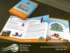 Bi Fold Brochure Samples   Education Sector   Brochure Designer Company    Http://