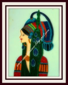 Anastasia (Annie) Wahalatantiri: Ancient African tribal princes in Quilling African Paintings, Quilled Creations, Paper Quilling, Anastasia, Annie, Prince, Portraits, Colours, People