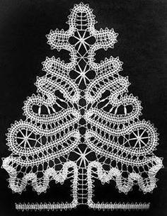 Arbolito de navidad tejido a crochet