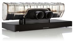 The $3,500 Porsche Design 911 Soundbar Bluetooth loudspeaker incorporates an actual titanium rear silencer and twin chromed exhaust tips from a 911 GT3.