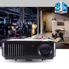 Powerful 3500 Lumens Home Theater LED Projector 1080p HD 3D Movies Smart HDMI    $165.99   $321.00   (1998 Available)End Date: Sep 072016 07:59 AM GMT-07:00