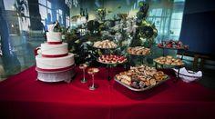 Stephanie & Gabriel's wedding at the South Carolina Aquarium. Photography by Addison Studios