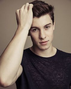 @shawnmendes had his portrait taken backstage at #iHeartRadio Fest! : @austinhargrave
