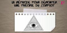 Les trois questions à se poser face à une théorie du complot. Europe 1