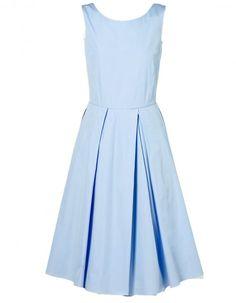 Robe plissée en popeline Gant - Mode d'été : 60 robes qui changent - ELLE.fr