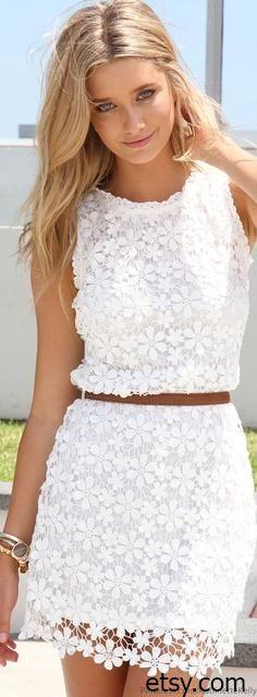 Выкройка летнего кружевного платья   Выкройки онлайн и уроки моделирования