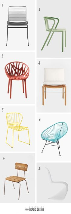 8 Stylish Outdoor Dining Chairs to Spruce up Your Terrace - NordicDesign