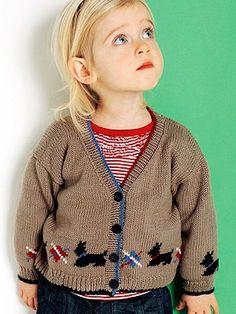 scottie jacket | Knitting Fever Yarns & Euro Yarns