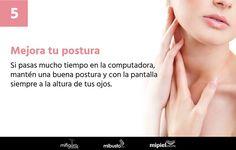 No permitas que tus malos hábitos afecten la #piel de tu #cuello  #SkinCare #Style