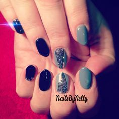 Calgel nail art #nailsbynelly