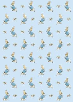Beatrix Potter Peter Rabbit Sheet of Gift Wrap and Gift Tag Beatrix Potter… Beatrix Potter, Peter Rabbit Birthday, Peter Rabbit Party, Peter Rabbit Wallpaper, Coelho Peter, Peter Rabbit Nursery, Peter Rabbit And Friends, Rabbit Baby, Peter Cottontail