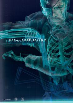 Metal Gear Solid V: The Phantom Pain artwork: Poster