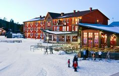 Branäs skidanläggning är Sveriges bästa för barnfamiljer!