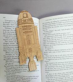 Star Wars R2D2 Bookmark  Laser Engraved Alder by JuniperandIvy