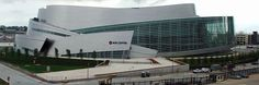 Cesar Pelli design. BOK Center, large multi-purpose arena in Tulsa, OK.