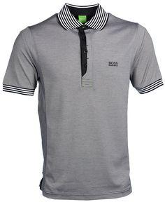 8aa14d23ee Hugo Boss Pavel Modern Fit Polo Shirt - Black Mens Polo T Shirts