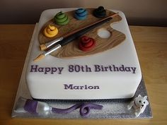 picture images of artist palet birthday cakes | Artist's Palette