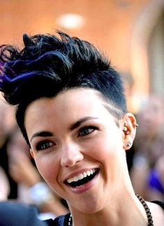 10 Best Blue Pixie Cut | http://www.short-hairstyles.co/10-best-blue-pixie-cut.html