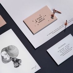 Branding for Studio Anja Kroencke by Bureau Rabensteiner