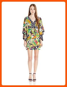 2274ab17a Trina Turk Women's Kairi Turkish Delight Matte Jersey Kimono Sleeve Dress,  Multi, 4 - All about women (*Amazon Partner-Link)