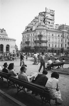 How Bucharest looked in through the eyes of German photographers Anul Nou, Little Paris, Interesting Reads, Old City, Timeline Photos, Old Pictures, Time Travel, Wonderful Places, Old Town