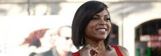 Elle celebrates diverse women in television including Taraji P Henson who is a vision in leather!