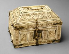 Casket with Warriors and Dancers, 11th century. Made in, Constantinople. Byzantine. The Metropolitan Museum of Art, New York. Gift of J. Pierpont Morgan, 1917