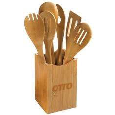 7-Piece Bamboo Utensil Set | Eco Promotional Products, Environmentally and Socially Responsible Promotional Products