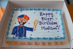 Blippi Birthday Party on a Dime! Second Birthday Ideas, Third Birthday, 6th Birthday Parties, Birthday Fun, Power Ranger Birthday, Party Gifts, Party Party, Party Cakes, First Birthdays