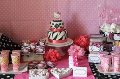 "Hello Kitty Style! / Birthday ""Bree's 14th Birthday-Hello Kitty Slumber Party"" | Catch My Party"