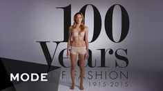 100 Years of Fashion in 2 Minutes ★  Mode.com www.bigbutik.com