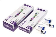 Student Set of LittleBits circuits. Electrical Engineering for the classroom. Affordable and intuitive.