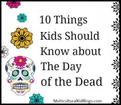 of the Dead Facts in English and Spanish Day of the Dead facts in English and Spanish help kids understand the tradition.Day of the Dead facts in English and Spanish help kids understand the tradition. Spanish Help, Spanish Lessons, Learning Spanish, Art Lessons, Spanish English, Kids Crafts, Day Of The Dead Party, Holiday Day, Thinking Day