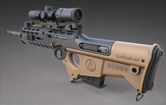 "ArtStation - Quicksilver Industries: ""Wildebeest"" Rifle / DMR & SR, Christian Groß"