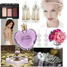 """Vera Wang Princess"" by beforetheclockstrikesmidnight@blogspot.com on Polyvore"