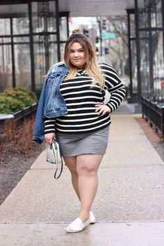 Plus size loungewear from dressbarn on Natalie in the City! I'm in love with this lace-up top and mini skort!
