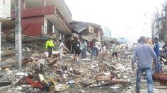 #EarthquakeInEcuador #EcuadorEarthquake #Ecuador #SismoEcuador #EcuadorListoYSolidario #Sismo #TerremotoEcuador #PrayForEcuador