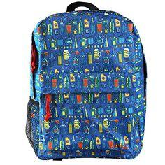 Chumbak Daaru Laptop Backpack , Multicolor