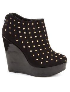 Studded Shoe Boots <3