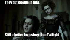 ANY love story is better than Twilight