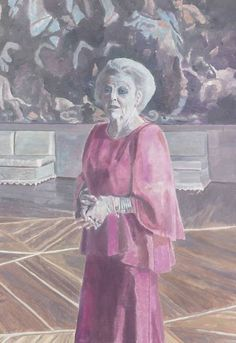 In The Studio: Luc Tuymans, painter - portrait of Queen Beatrix