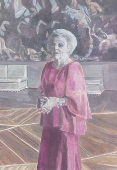 Luc Tuymans - portrait of Queen Beatrix of The Netherlands 2013