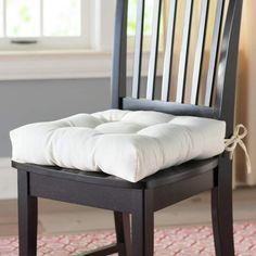 d76f183f90c Andover Mills Indoor Outdoor Dining Chair Cushion Color  Aqua Blue ...