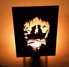 Kiss the Girl Inspired Night Light by PracPerfCrafts on Etsy