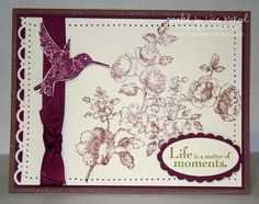 Stampin' Up Card Samples | Stampin Up Elements of Style Card Samples | Creative Cucina
