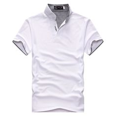 46d1941f4124 shirt men 2017 New Mens swag casual Men s Short Sleeve Knitted fabrics men 11  colors 5 size homme polo