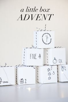One of our favorite things about Christmas is…the countdown! We loved having advent calendars growing up and can't wait to share the excitement with our girls this year. We came up with…