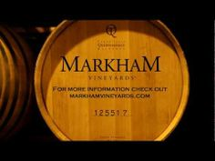 Welcome to Markham Vineyards! Where I got my first case of wine. #NapaValleyHoliday