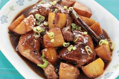 How To Cook Eurasian Chicken Stew with Worcestershire Sauce